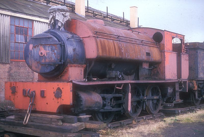 0-6-0ST No.47 at Didcot GWS on 16th July 1988.