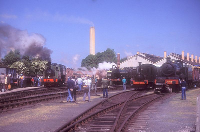 General view of Didcot MPD on 27th May 1989.