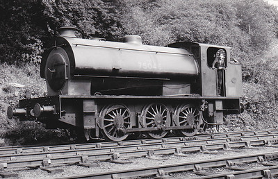 75046 - WD 'Austerity' Class 0-6-0ST - built 1943 by Hunslet Engine Co., Works No.2895, as WD No.75046 - sold to NCB - seen here still wearing WD number.
