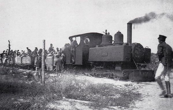 743 - Baldwin War Department Light Railway Class 10-12-D 4-6-0T - 600mm - 495 locos built by Baldwin Locomotive Works between October 1916 and April 1917.