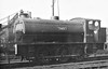 71487 - AUSTERITY 0-6-0ST - built 1944 by Hunslet Engine Co., Works No.1763 - purchased back by Hunslet Engine Co. from WD and rebuilt, new Works No.3891, then resold - seen here at Cambridge during WW2. <br /> Chosen by the War Department as it's standard shunting locomotive, The first Austerity 0-6-0ST was built in 1943 to a standard Hunslet Engine Co. design. Eventually, 485 engines were built by 6 different manufacturers and production did not end until 1964. After the War, examples remained all over Europe, 90 being retained for military use, 75 going to the LNER as Class J94, at least 36 ended up in Holland, many of the remainder going into industrial use, the newly formed NCB being a major customer. Around 70 are preserved in Britain with others in Europe.
