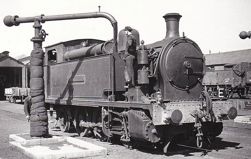 SIR JOHN FRENCH - 0-6-2T - built 1914 by Hawthorn Leslie & Co., Works No.3088 - supplied new to Longmoor - withdrawn by 1947.