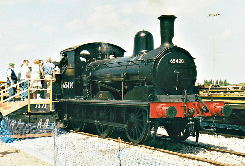 ( 94) - Whitemoor Open Day, May 25th, 2004 - The North Norfolk Railway's ex-GER Class J15 0-6-0 65462 faked up as long-term March Depot resident 65420.