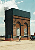 ( 98) - Whitemoor Open Day, May 25th, 2004 - The refurbished watertower, to be used as a static water tank. I think originally it was intended to demolish it and build a new one but it was found to be in very good condition and worth refurbishment.