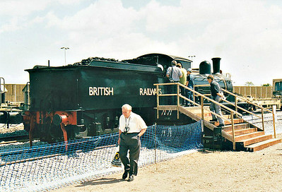 ( 95) - Whitemoor Open Day, May 25th, 2004 - The North Norfolk Railway's ex-GER Class J15 0-6-0 65462 faked up as long-term March Depot resident 65420.