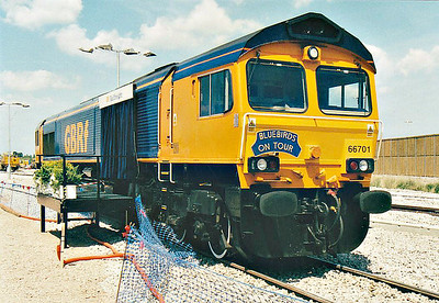 ( 91) - Whitemoor Open Day, May 25th, 2004 - 66701, to be named 'WHITEMOOR' later in day.
