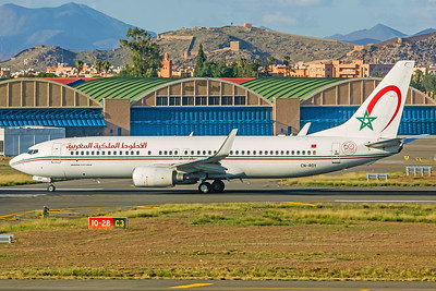 Royal Air Maroc Boeing 737-8B6 CN-ROY 11-8-18