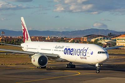 Qatar Airways Boeing 777-3DZ(ER) A7-BAG 11-8-18