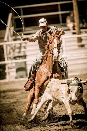 Taylorsville Roping 7-6-2014