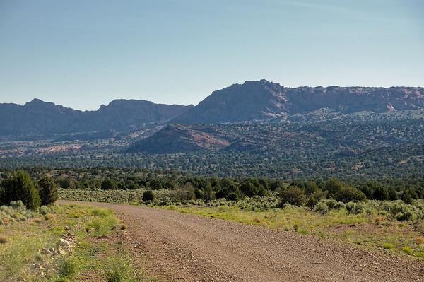 la House Rock Valley road ( arrivée par le sud)