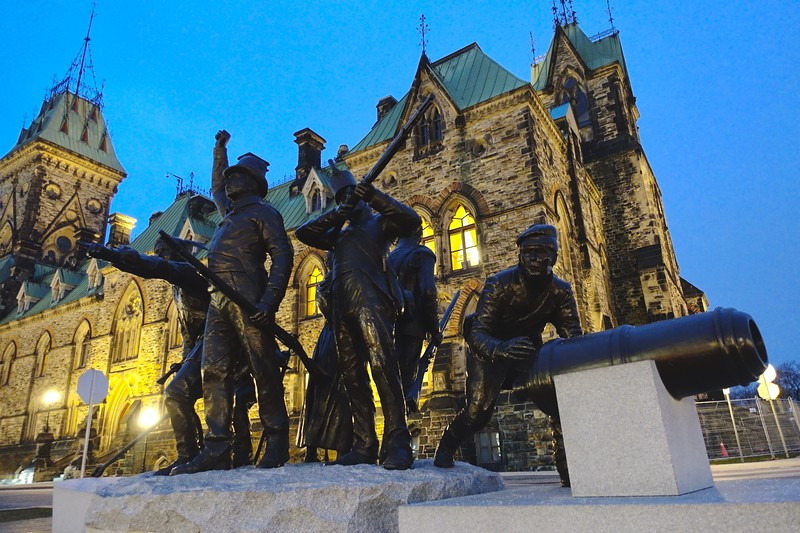 War of 1812 monument.