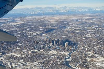 Leaving Calgary.