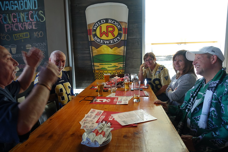 Friday, November 22<br /> <br />  Our friend Carl from Nordeg has arrived in town and it is time to party.  <br /> <br />   It is always fun to meet up with other fans of like interests, like this couple from Saskatchewan.