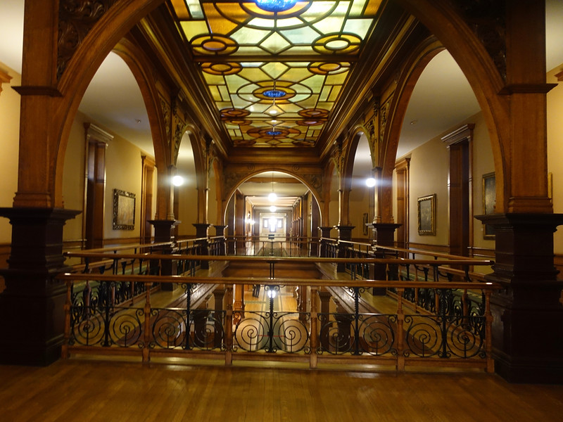 We had a private tour through a few selected rooms of the interior.  <br /> <br /> Tours of past years through the Parliament Buildings in Ottawa, and the Legislative Buildings in Regina, Winnipeg, and Edmonton were much more thorough and interesting.