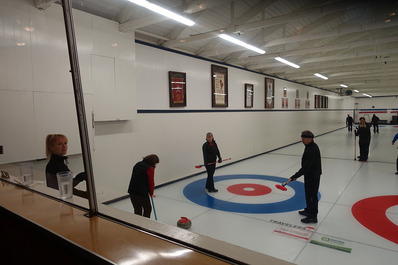 Some of the club's top curlers are here to compete.