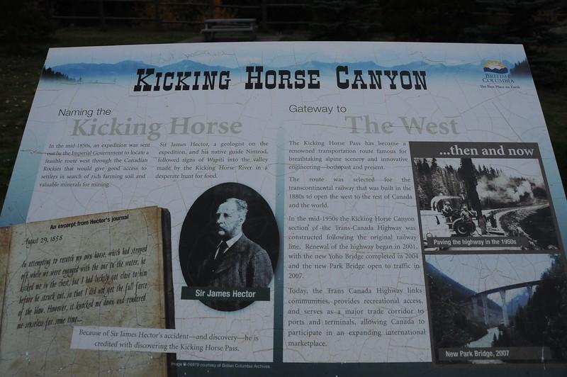Naming the Kicking Horse