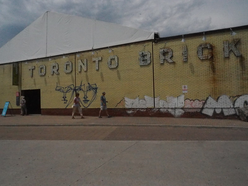 Today we are meeting up with Sue and Andy at the Toronto Brick Works.