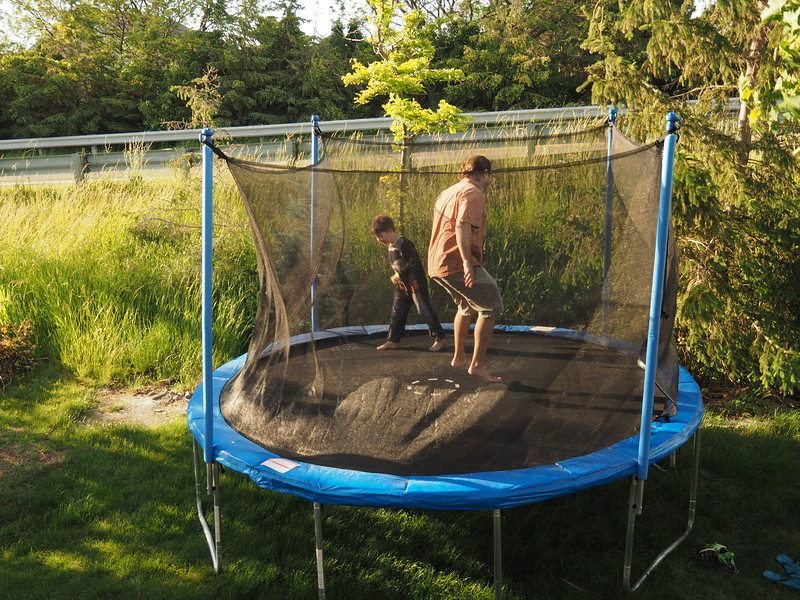 """Mike and Ryan are getting ready for the """"big bounce."""""""