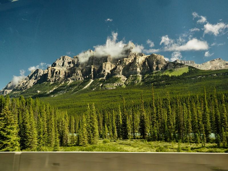 Castle Mountain<br /> <br />   Our winter hostel get-a-way destination.
