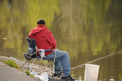 If a person is not of the fly-casting mind, you can always take a more leisurely approach to fishing.