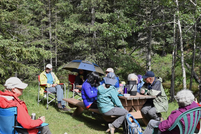 Once down we made our way back to Sibbald Lake, one of our favourite hangouts before heading back to the city.