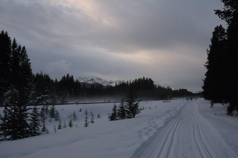 Railway and Ski Tracks