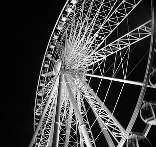 Ferris Wheel at night, Niagara Falls, Ontario.