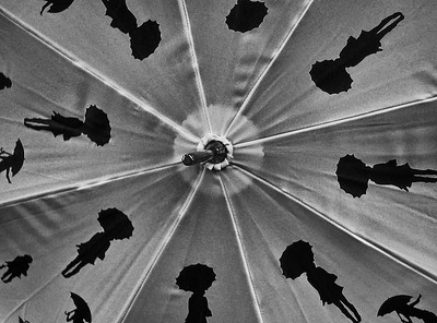 Betty Boop umbrella.
