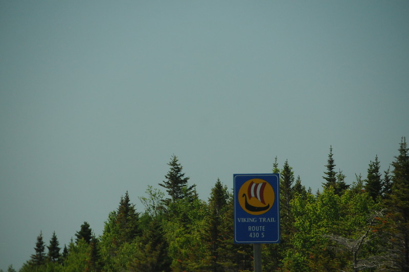 Well we're back on the road again, and retracing our path south along Route 430.  Our destination today is Deer Lake, on the junction of Route 430 and the TransCanada Hwy., 30 kilometres south-east of the Gros Morne National Park south gate.