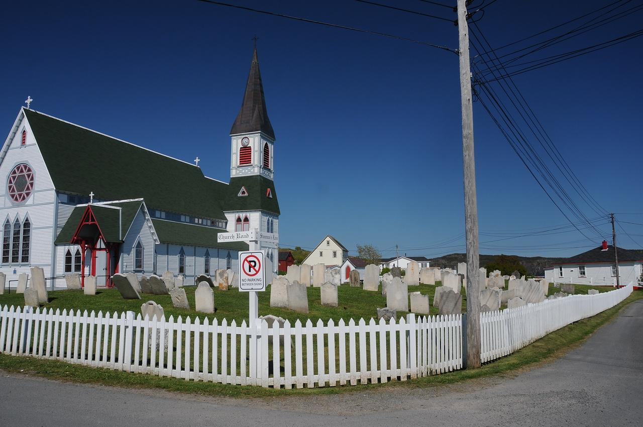 Church Road and Stoneman's Lane