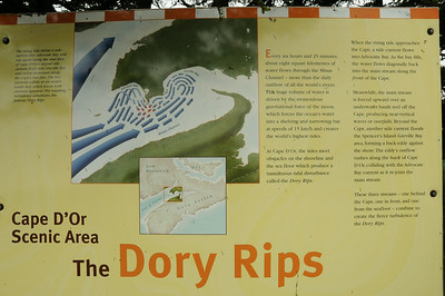 "What are ""Dory Rips"" you ask?  Cape d'Or is located on the tiny point of land above the ""red"" arrows."
