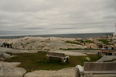 On my return to Peggy's Cove this June, fifty-four years since my last visit, I figured not too much has really changed, except for maybe the hordes of tourists that resemble ants crawling all over the granite slabs.