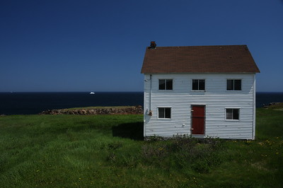 Not too sure what was on my mind when I photographed this lonely house.  But it made it through a number of photo short lists from the total 2,700 pictures taken while on holidays, and it joined the 1,360 images that  made the final cut.