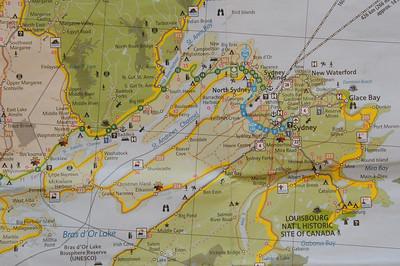 Baddeck to Louisbourg