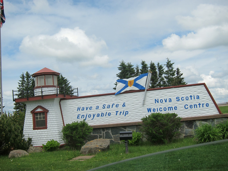 After leaving Cape Tormentine, Sharon and I continued on into Nova Scotia.