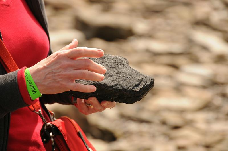 A modern day coal chunk.