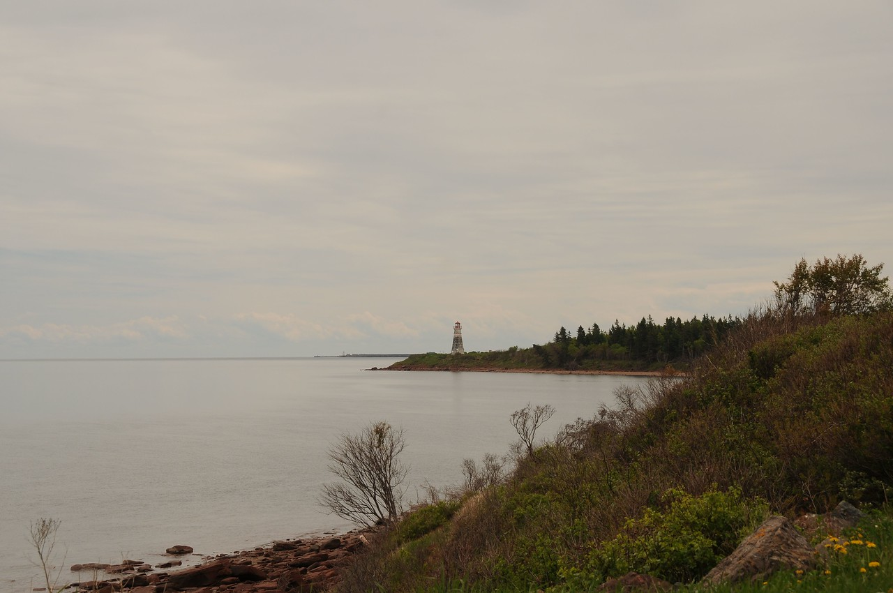 Lighthouse points.<br /> <br /> We didn't wander too far along this trail.  We were looking forward to what lies ahead in Nova Scotia and were anxious to get started.  And so we did.