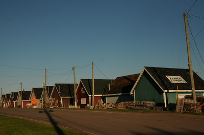 After leaving the beaches of Cavendish, Sharon and I followed along Route 6 and into the community of North Rustico.