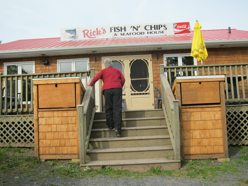 Rick's Fish 'N' Chips.