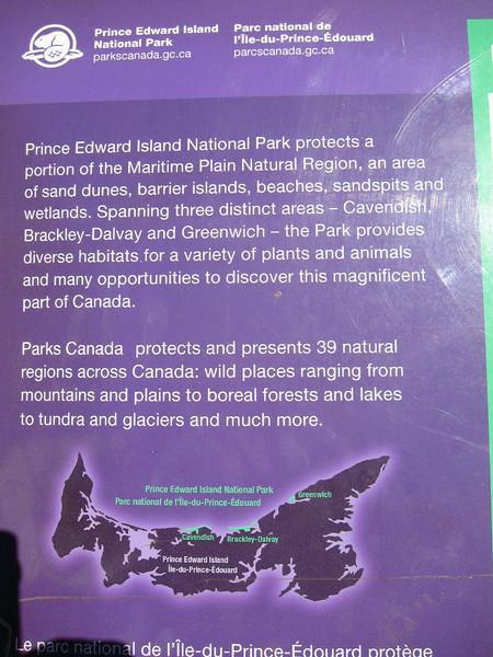 Prince Edward Island National Park -   Cavendish, Brackley-Dalvy, and Greenwich