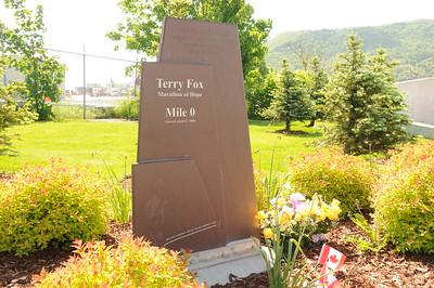 Terry Fox Memorial Gardens