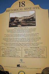 A brief history lesson describing Atlas Coal Mine #3 and #4.