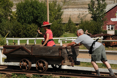 During the wait for our rail tour some extra practice is in order.