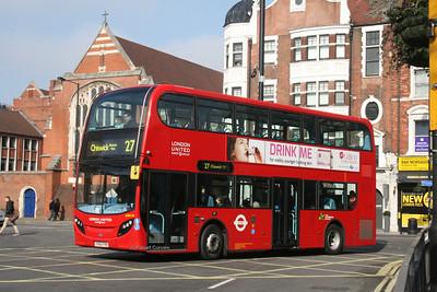 ADH30, YX62FHO, London United, Hammersmith.