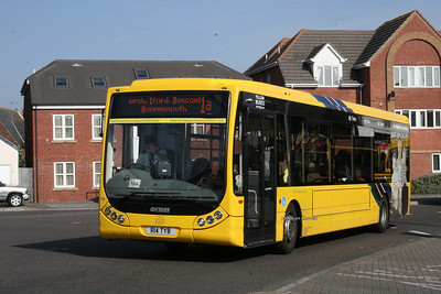 14, R14TYB, Yellow Buses, Ashley Road, Boscombe.