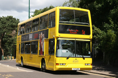 271, T271BPR, Yellow Buses, Old Christchurch Road