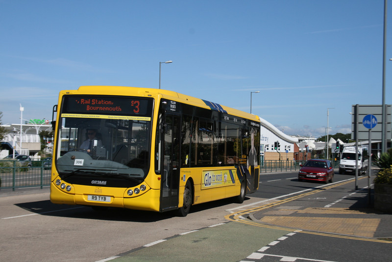 9, R9TYB, Yellow Buses, Castle Lane West