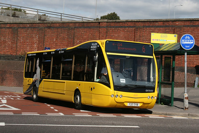27, T27TYB, Yellow Buses, Bournemouth Travel Interchange