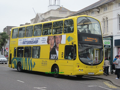 181, HF03ODV, Yellow Buses, Christchurch High Street