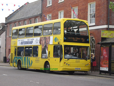 115, HF05HNC, Yellow Buses, Christchurch High Street